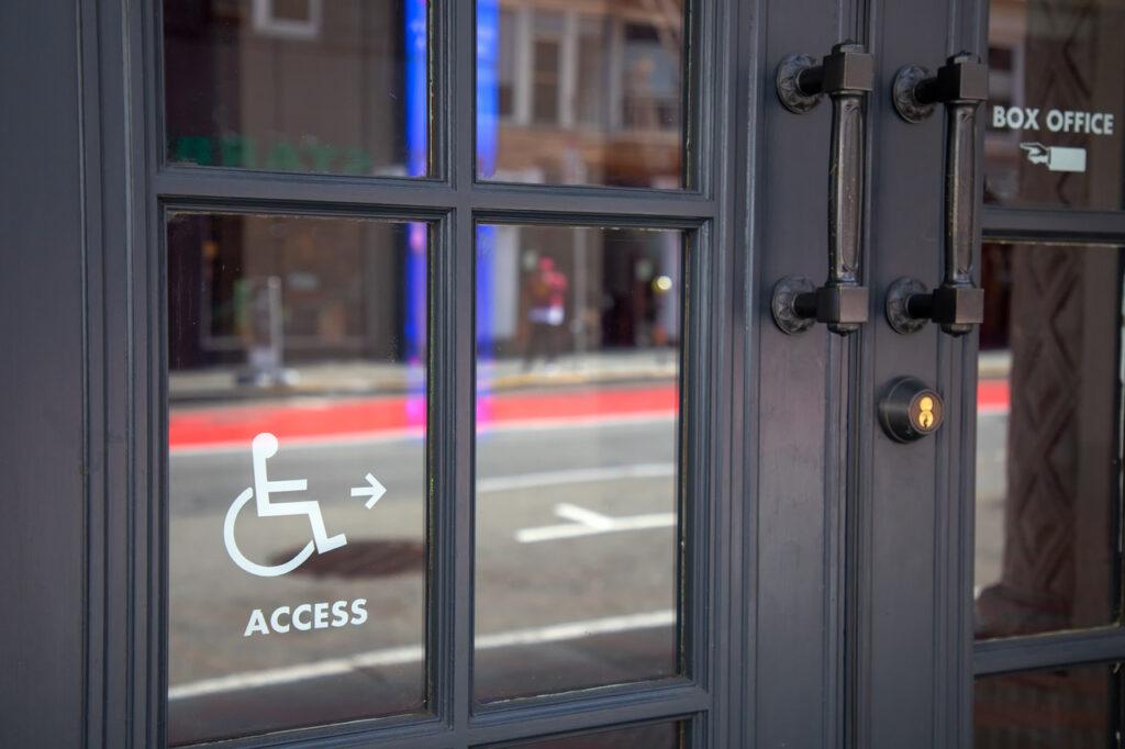 Hindernisfreier Zugang